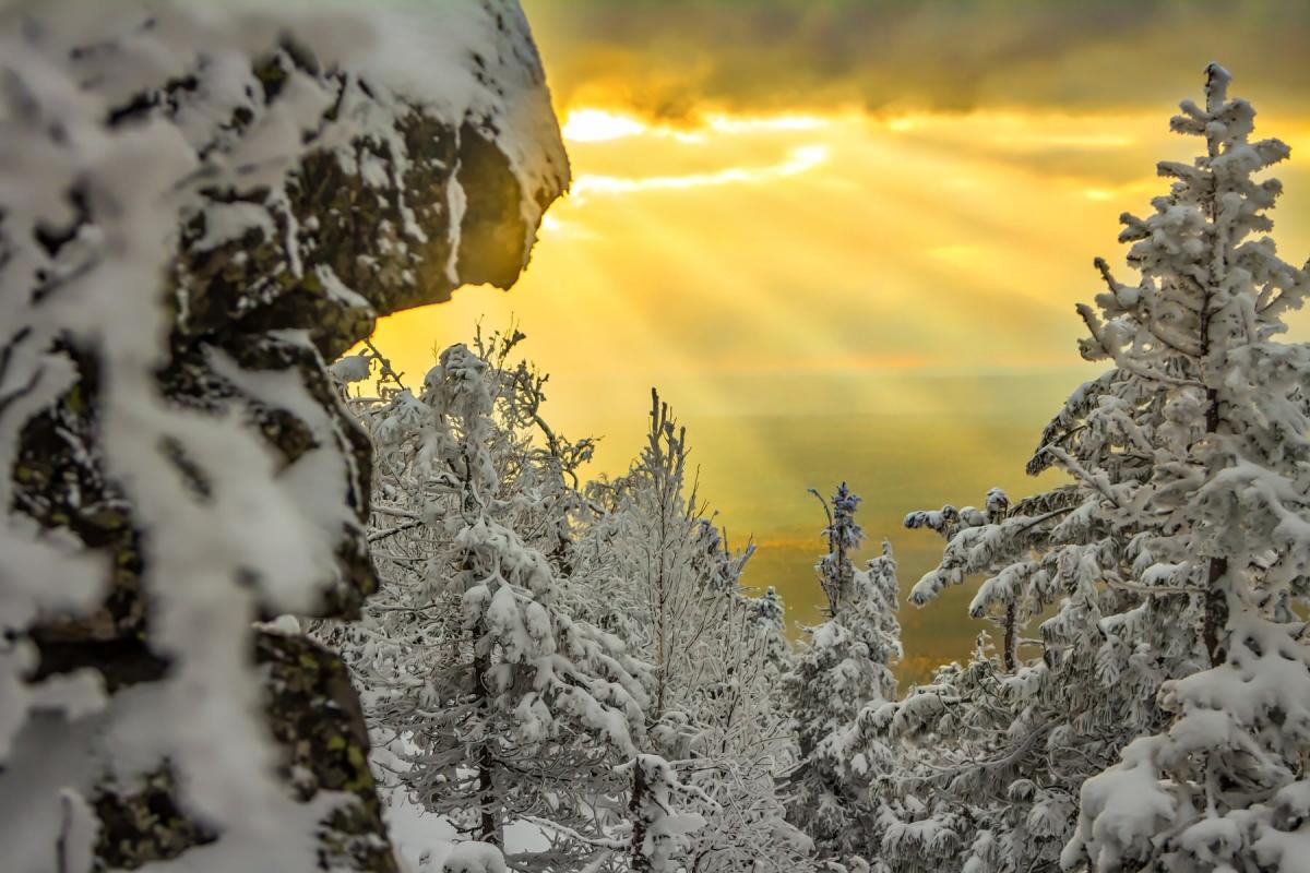 Старик Камень гора