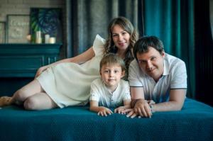Семейная фотосъемка в Тюмени