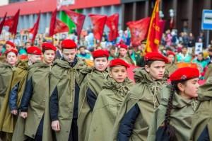 Парад 9 мая 2017 в Тюмени