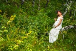 Фотосессия беременных в Тюмени